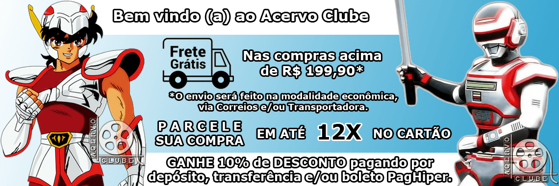 Banner Bem Vindo (a) ao Acervo Clube