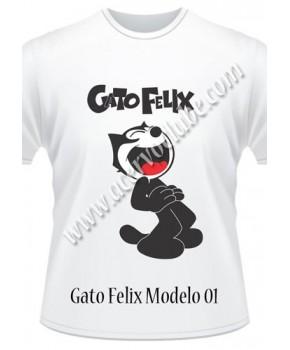 Camiseta Gato Felix