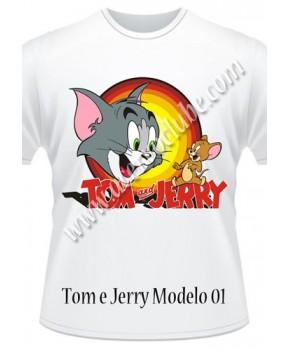 Camiseta Tom e Jerry