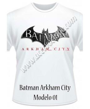 Camiseta Batman Arkham City