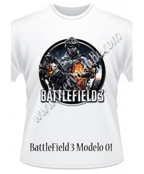 Camiseta BattleField 3