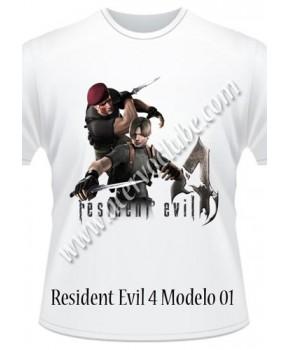 Camiseta Resident Evil 4