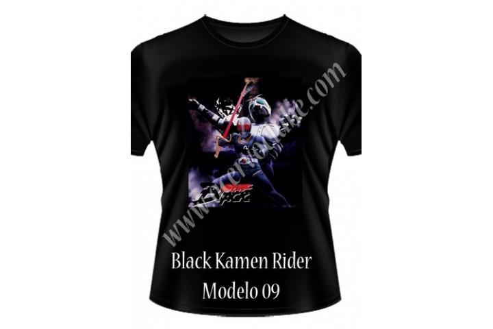 Camiseta Black Kamen Rider