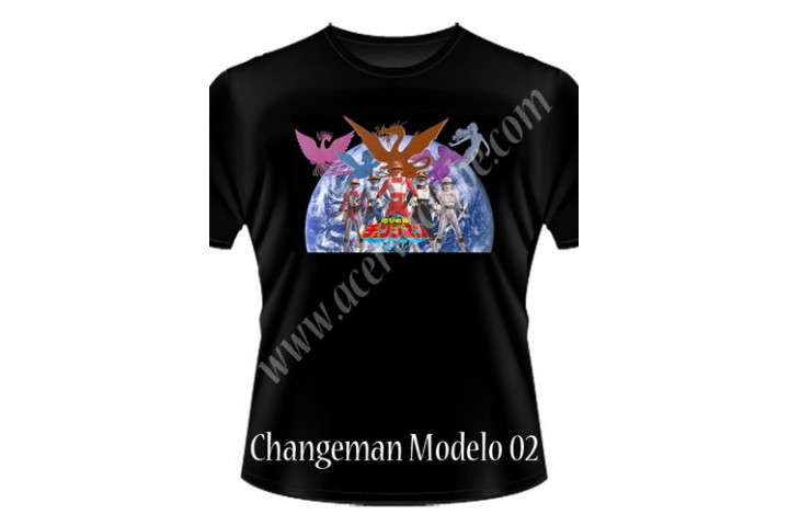 Camiseta Changeman
