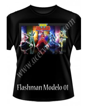 Camiseta Flashman