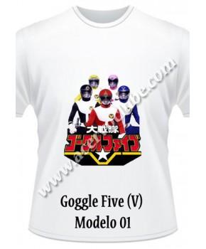 Camiseta Goggle Five