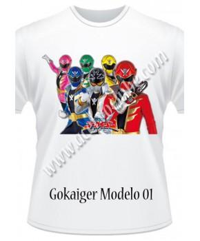 Camiseta Gokaiger