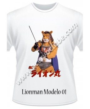 Camiseta Lion Man