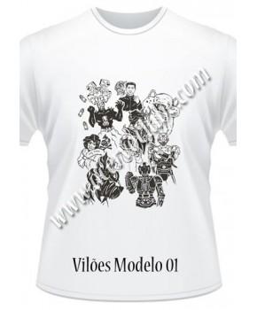Camiseta Vilões