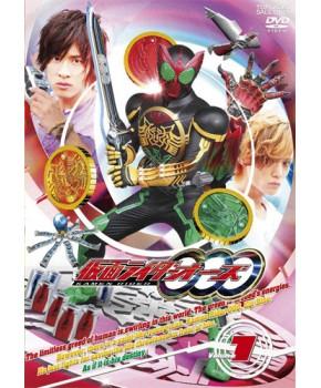 Kamen Rider OOO DVD Japonês