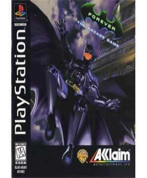 PS1 - Batman Forever - The Arcade Game