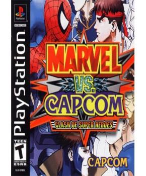 PS1 - Marvel vs. Capcom 1 - Clash of Super Heroes