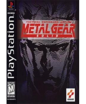 PS1 - Metal Gear Solid