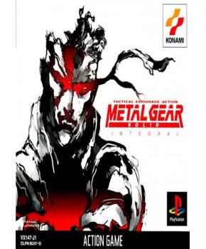 PS1 - Metal Gear Solid - Integral