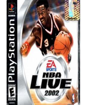 PS1 - NBA Live 2002