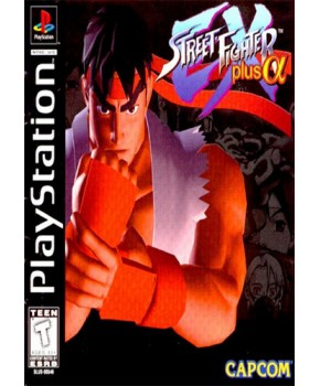 PS1 - Street Fighter EX Plus Alpha
