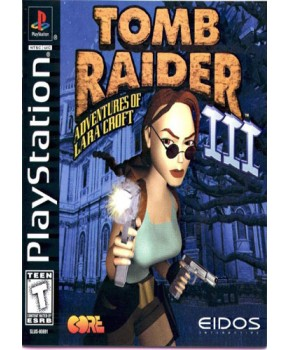 PS1 - Tomb Raider 3 - Adventures of Lara Croft