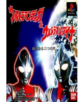 PS1 - Ultraman Tiga & Ultraman Dyna - New Generations
