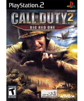 PS2 - Call of Duty 2 - Big Red One