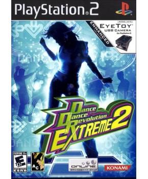 PS2 - Dance Dance Revolution Extreme 2