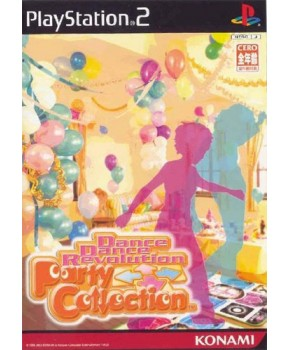 PS2 - Dance Dance Revolution Party Collection