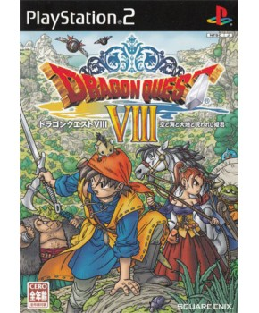 PS2 - Dragon Quest VIII - Journey Of The Cursed King