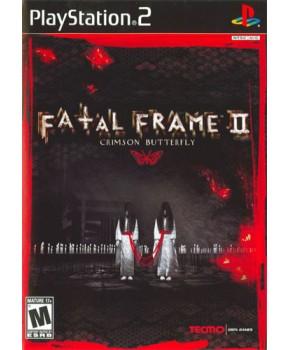 PS2 - Fatal Frame 2 - Crimson Butterfly