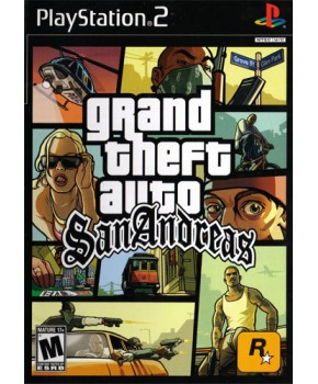 PS2 - Grand Theft Auto - San Andreas