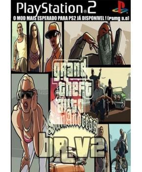 PS2 - Grand Theft Auto - San Andreas BR V2 - PTMG 3.0