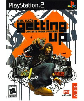 PS2 - Marc Ecko's Getting Up Contents Under Pressure