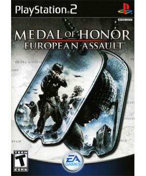 PS2 - Medal of Honor European Assault