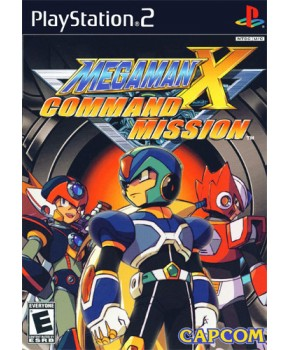 PS2 - Mega Man X Command Mission
