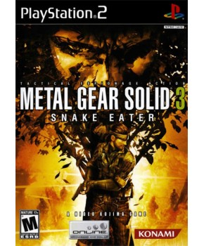 PS2 - Metal Gear Solid 3 Snake Eater