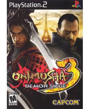 PS2 - Onimusha 3 - Demon Siege