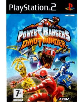 PS2 - Power Rangers Dino Thunder