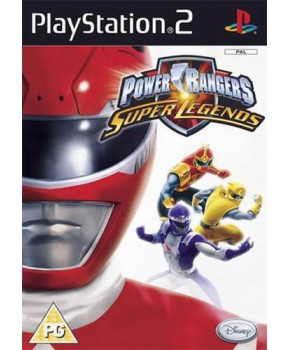 PS2 - Power Rangers Super Legends 15º Anniversary