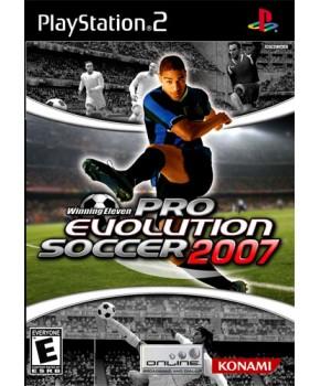 PS2 - Pro Evolution Soccer 2007