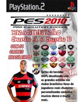 PS2 - Pro Evolution Soccer 2010 - Campeonato Brasileiro