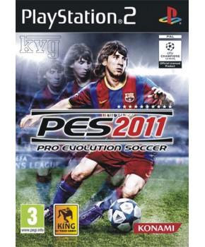 PS2 - Pro Evolution Soccer 2011
