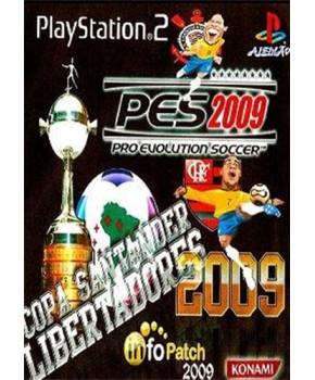 PS2 - Pro Evolution Soccer - Copa Santander Libertadores 2009