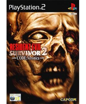 PS2 - Resident Evil Survivor 2 - Code Veronica