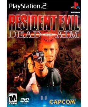 PS2 - Resident Evil - Dead Aim
