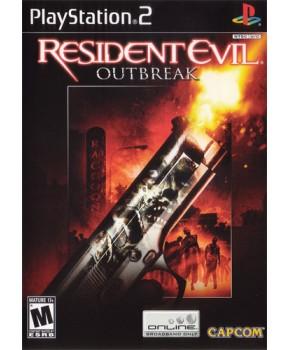 PS2 - Resident Evil Outbreak