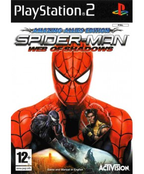 PS2 - Spider Man Web of Shadow