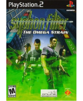 PS2 - Syphon Filter - The Omega Strain