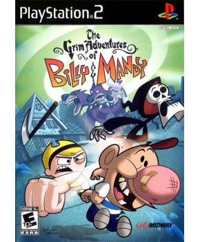 PS2 - The Grim Adventures of Billy & Mandy