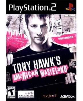 PS2 - Tony Hawk's American Wasteland