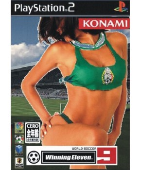 PS2 - Winning Eleven 09 Brasileirão 2006
