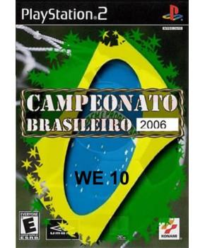 PS2 - Winning Eleven 10 Brasileirão 2006